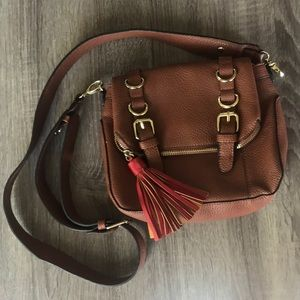 Brown Steve Madden crossbody bag